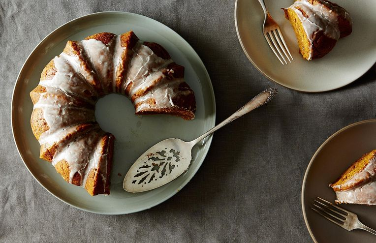 The Ultimate Fall Baked Good: Pumpkin Maple Coffee Cake