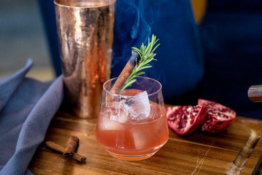 A Crisp Bourbon Cocktail to Toast the Season