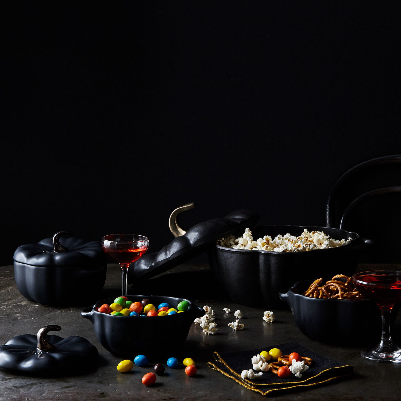 Staub Black Ceramic Mini Pumpkins Sets Of 2 On Food52