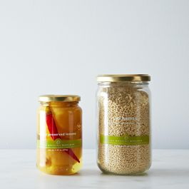 Preserved Lemon and Hand-Rolled Cous Cous