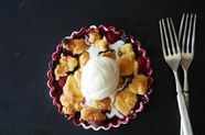Joan Nathan's Red, White, and Blue Fruit Crisp