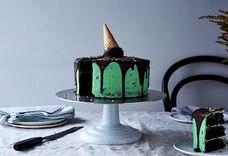 "Martha Collison's Mint Chocolate ""Ice Cream"" Cake"