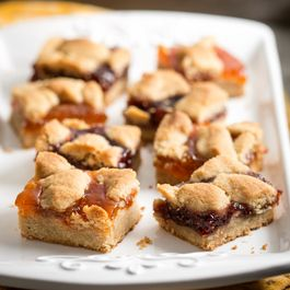 Patti LaBelle's Two-Fruit Almond Crumble Bars