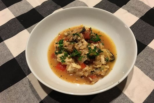 Fish (and a little seafood) stew