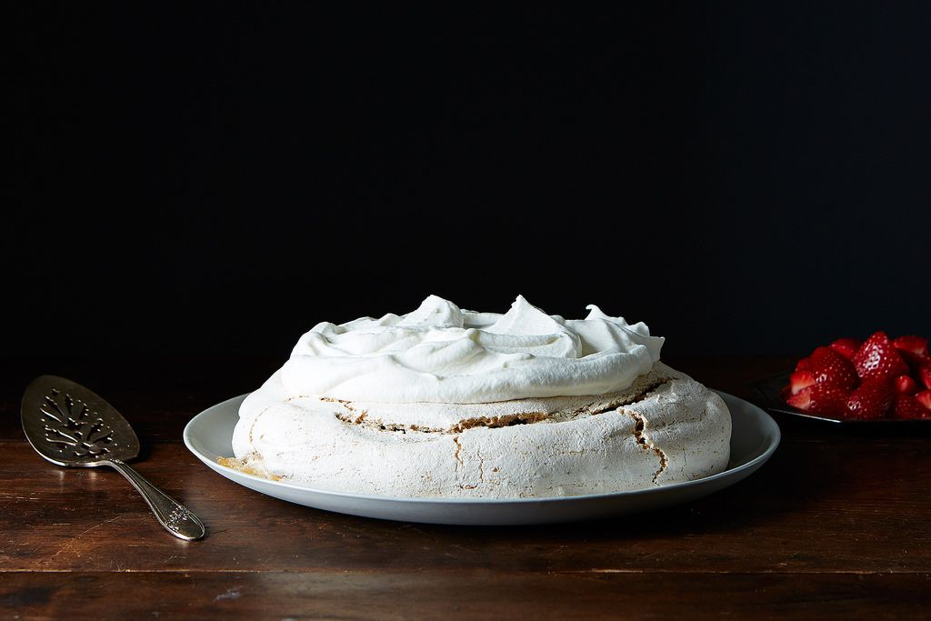 Peanut Butter Pavlova from Food52