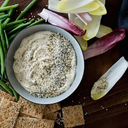 Everything Bagel Spiced Hummus
