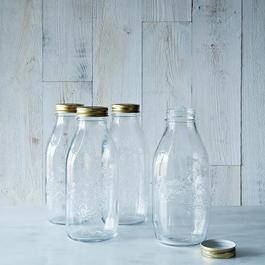 Quattro  Staggioni 1 Litre Canning Bottle (Set of 6)