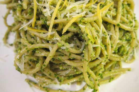 Winter Kale and Citrus Pesto