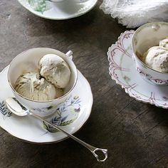 Orange-Scented Smoked Tea Ice Cream