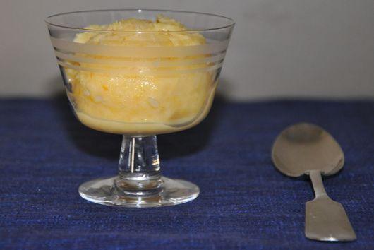 Orange Buttermilk Sherbet