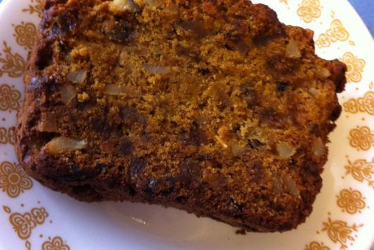 Squash Fig Banana Bread