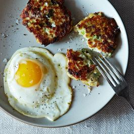 Bert Greene's Potato Scallion Cakes (Fritterra)