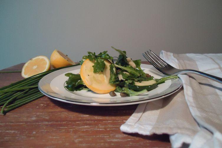 Extra-Garlicky Summer Salad