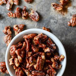 Salted Maple Pecans