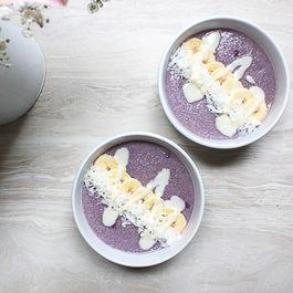 Blueberry Coconut Oat Bran