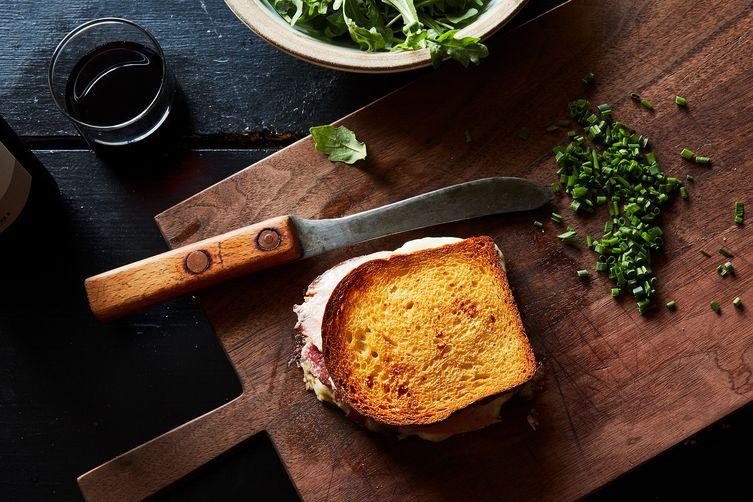 Eric Kayser's Croque-Monsieur with Mornay Sauce