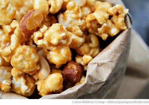Caramel Nut Popcorn
