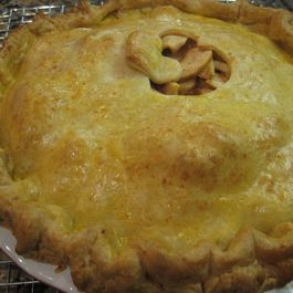 Autumn in New England Apple Pie