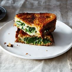 Dinner Tonight: Spanakopita Grilled Cheese