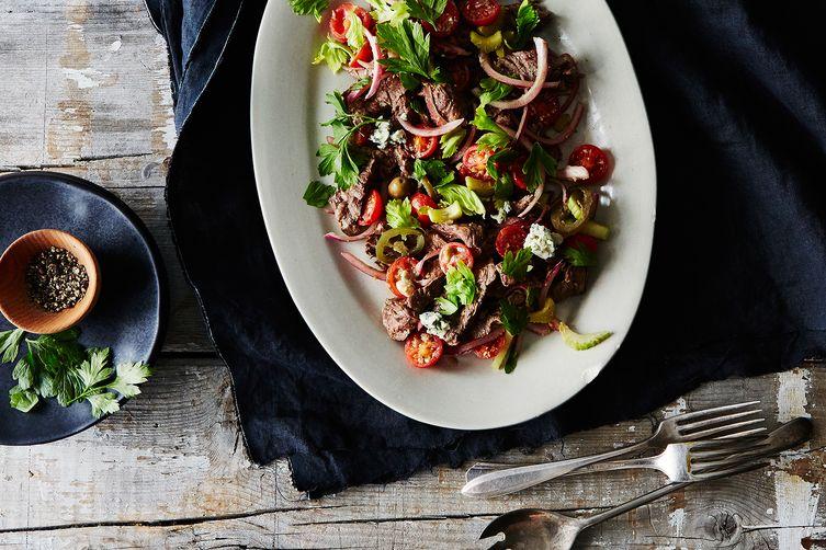 Bloody Mary Steak Salad
