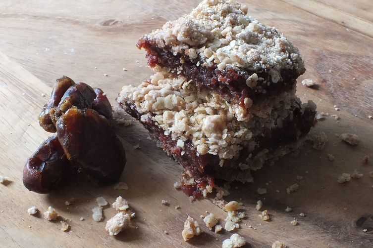 Brown Sugar Raspberry & Date Squares
