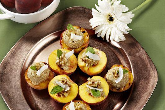 Stuffed Peaches - Beautiful Bounty