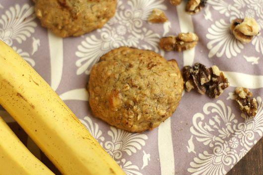 Banana and Walnut Cookies (Dairy Free)