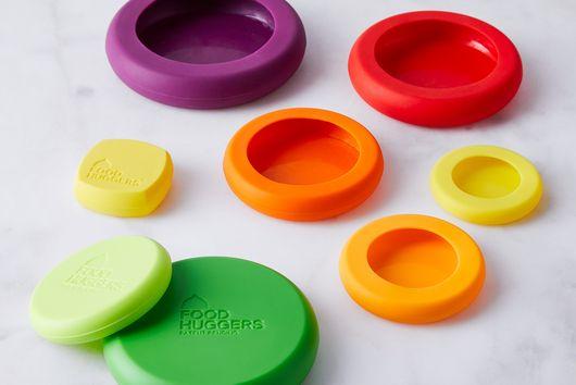 Reusable Silicone Food Savers (Set of 8)