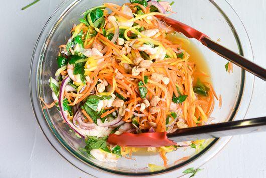 Vietnamese Mango Salad with Shrimps