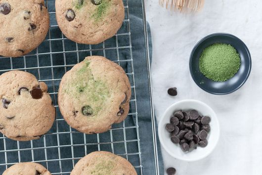 The Best Chocolate Chip Cookies with Matcha Salt