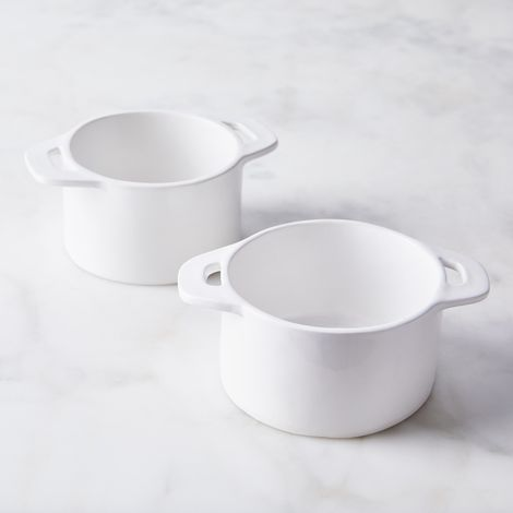 Handmade Porcelain Ramekins (Set of 2)