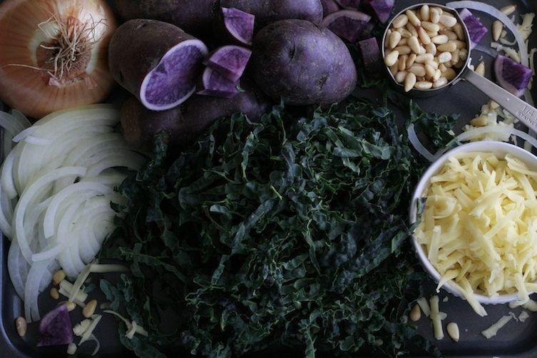 Kale, Potato and Cheese Pop Tarts