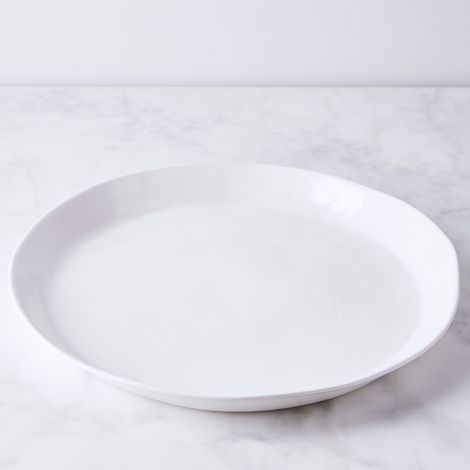 Simple Round Melamine Serving Platter