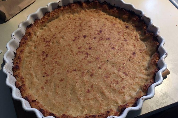 Cauliflower Crust Quiche