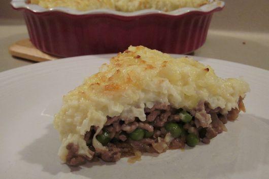 Cauliflower-Topped Shepherd's Pie