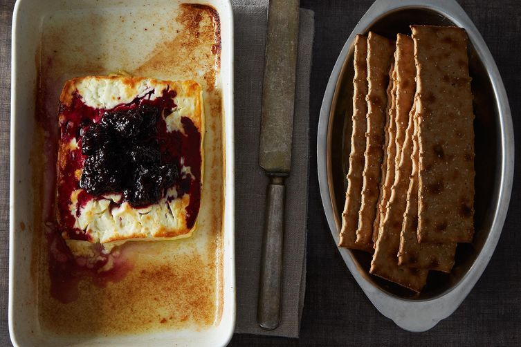 Baked Feta from Food52