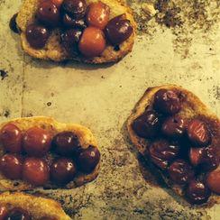 Faux-Tarte-Cerise (fake cherry pie)