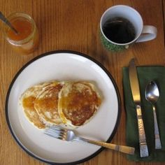 Beautiful Buttermilk Pancakes