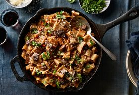 This Bolognese Cooks In The Oven (Yup, The Pasta, Too)
