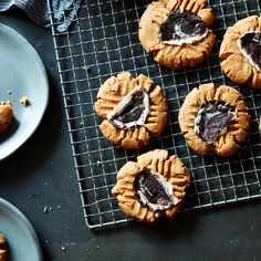 Peanut Butter Peppermint Chip Cookies