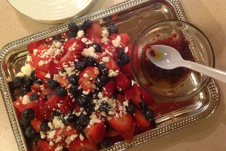 Berry Watermelon Salad