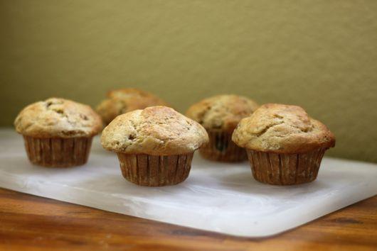 Vegan Bakery-Style Banana Muffins