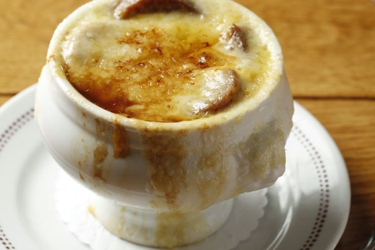 French Onion Soup at New York's Bar Boulud