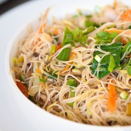 Vermicelli with Chicken and Herb Sauce