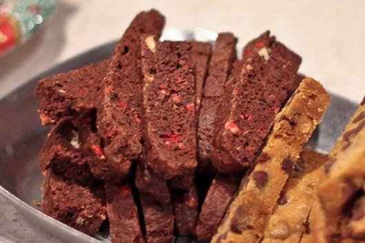 Peppermint Chocolate Biscotti