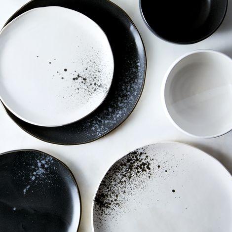 Handmade Splatter Dinnerware