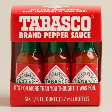 Mini Tabasco Bottles