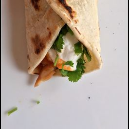 Pomegranate Molasses Tilapia Tacos with Kielbasa Fennel Salsa