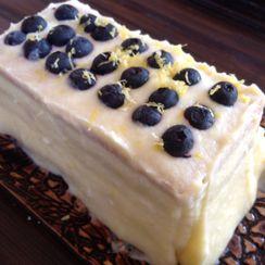 Blueberry Lemon Mascarpone Trifle