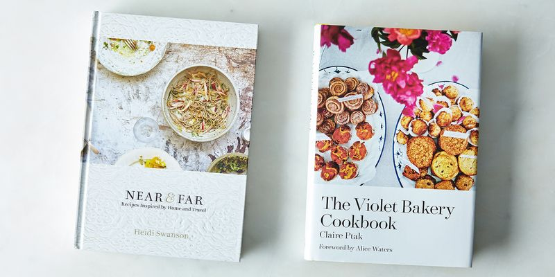 The two very pretty books in the ring.